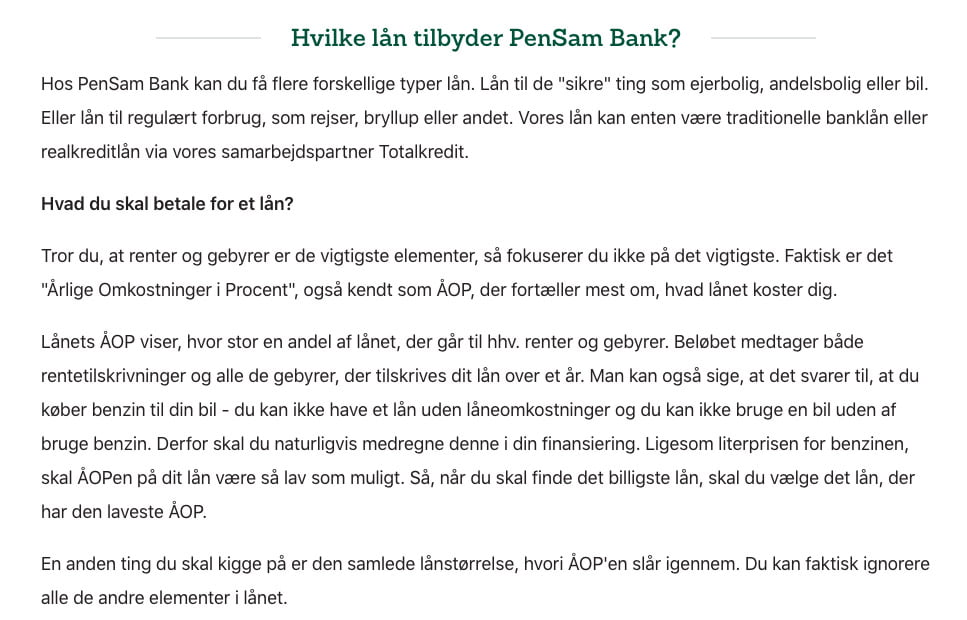 PenSam Bank