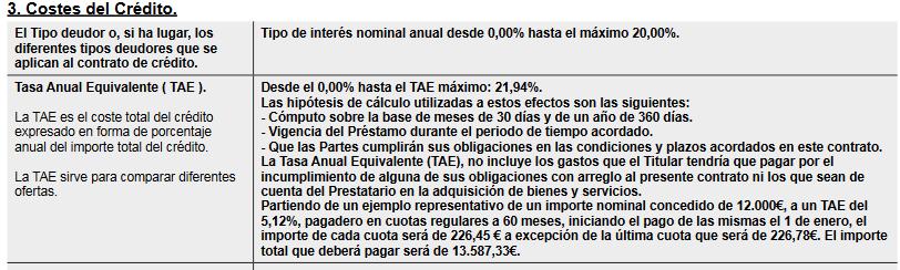 Contrato de Bankinter