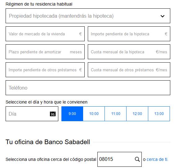 Registro en Sabadell