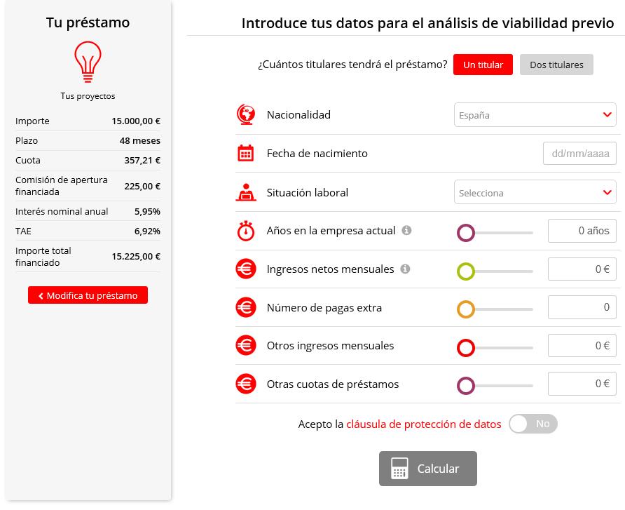 Registro en Santander