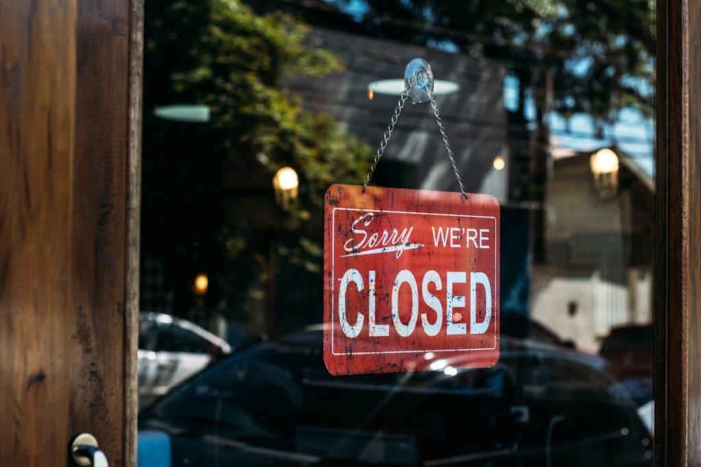 Muchas empresas han tenido que cerrar