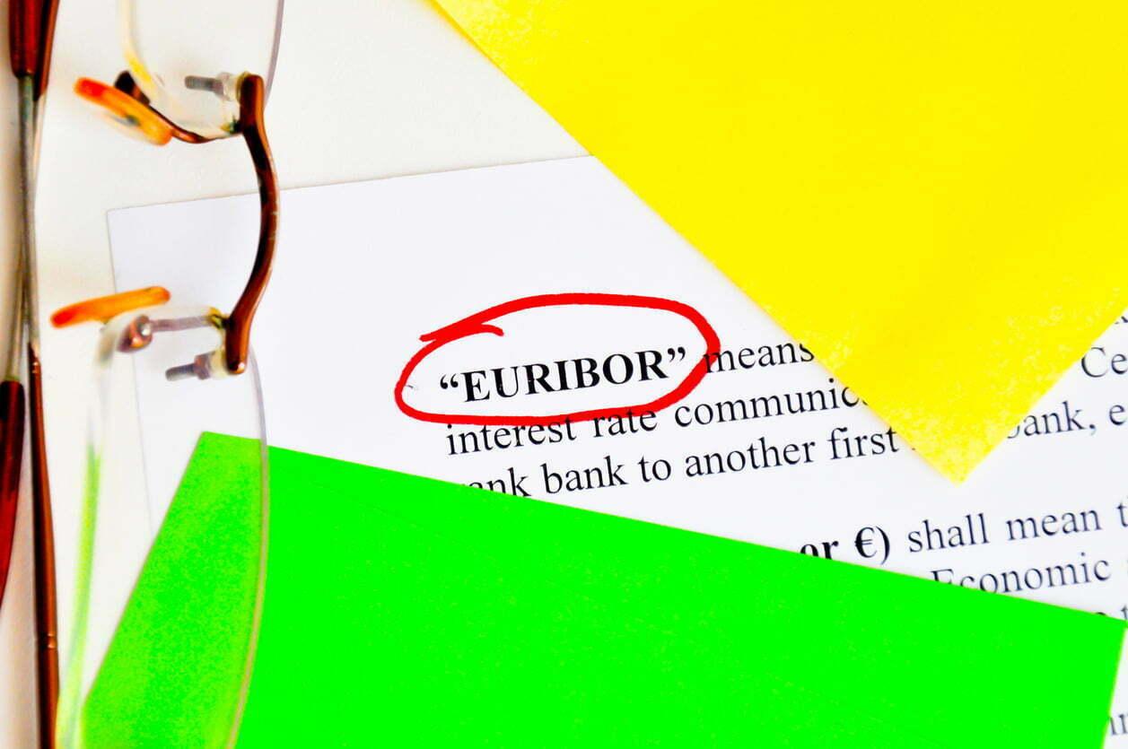 Euribor index rate
