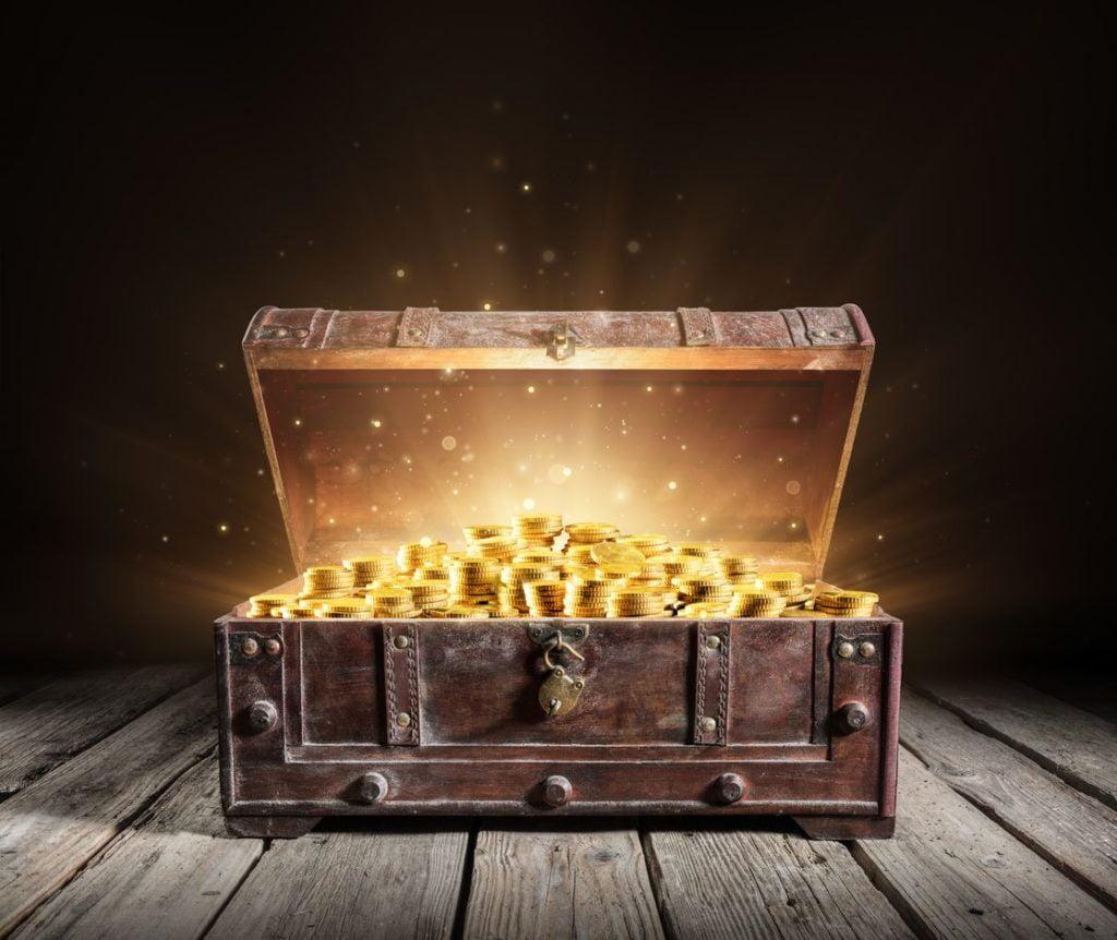 dinero fiduciario y peso en oro