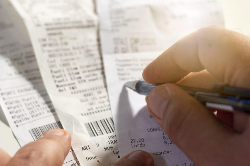 recibo vs factur