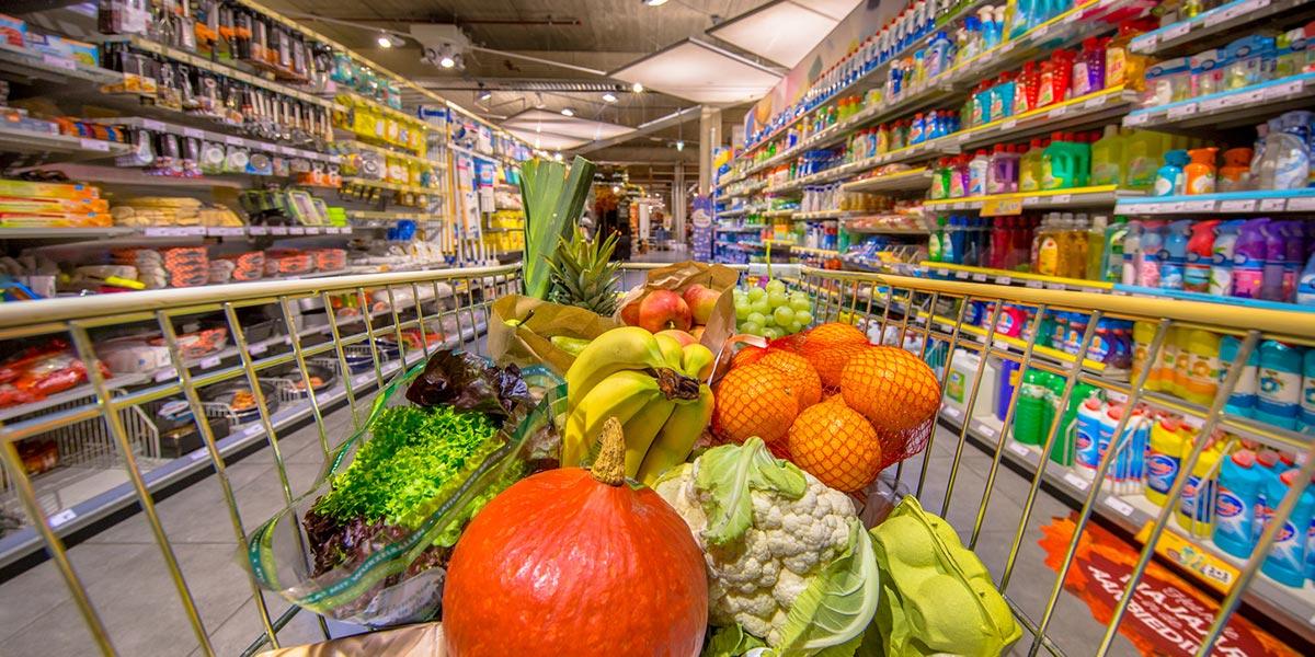 Kuluttajahintaindeksi muodostuu muun muassa ruoasta ja muista hyödykkeistä