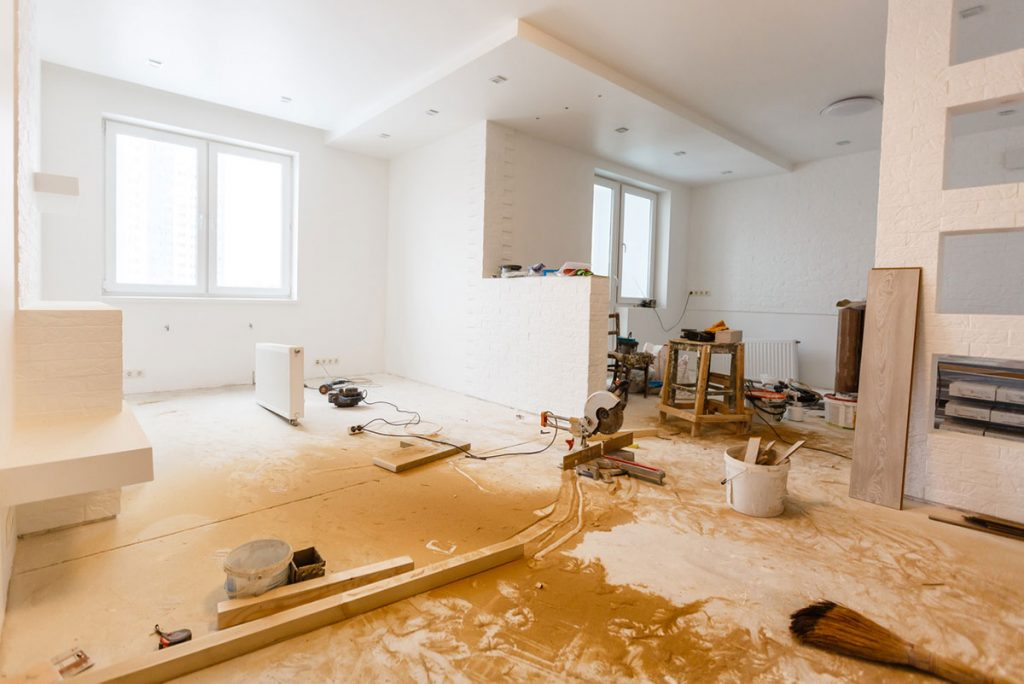 remonttilainalla voi tehdä vanhasta asunnosta uuden veroisen