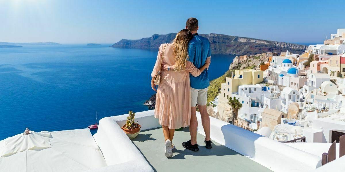 Kreikka on suosittu häämatkakohde