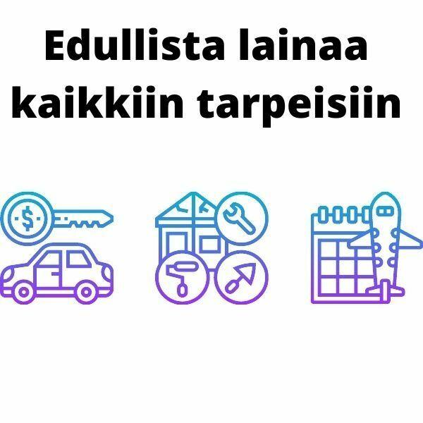 Top5Credits auttaa sinua löytämään lainaa pienellä korolla - Lainaa voi hakea esimerkiksi remonttia, autoa tai matkaa varten