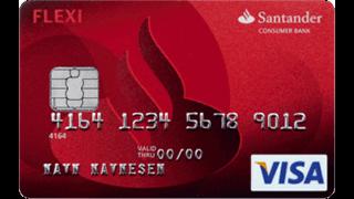 Santander Flexi Visa Erfaring