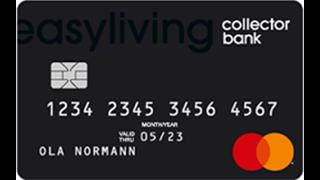 Easyliving Kreditkort från Collector Omdöme
