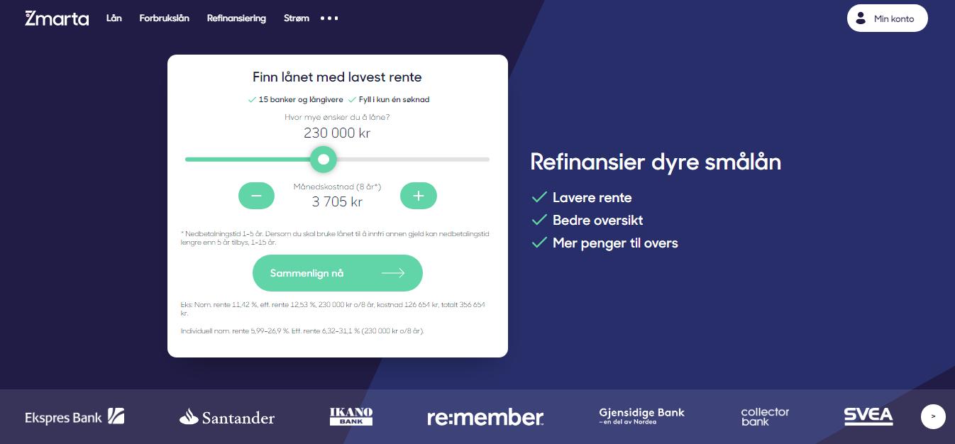 Zmarta refinansiere