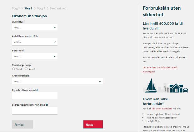 Anmeldelse av Bank Norwegian | Økonomisk situasjon