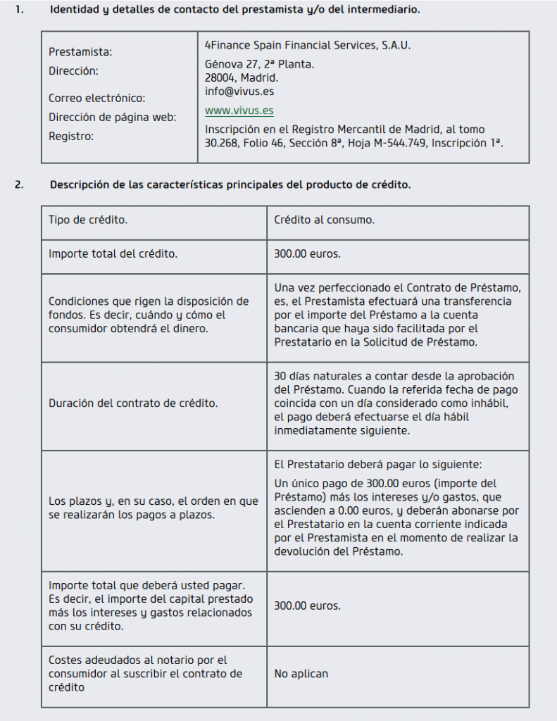 Contrato Vivus
