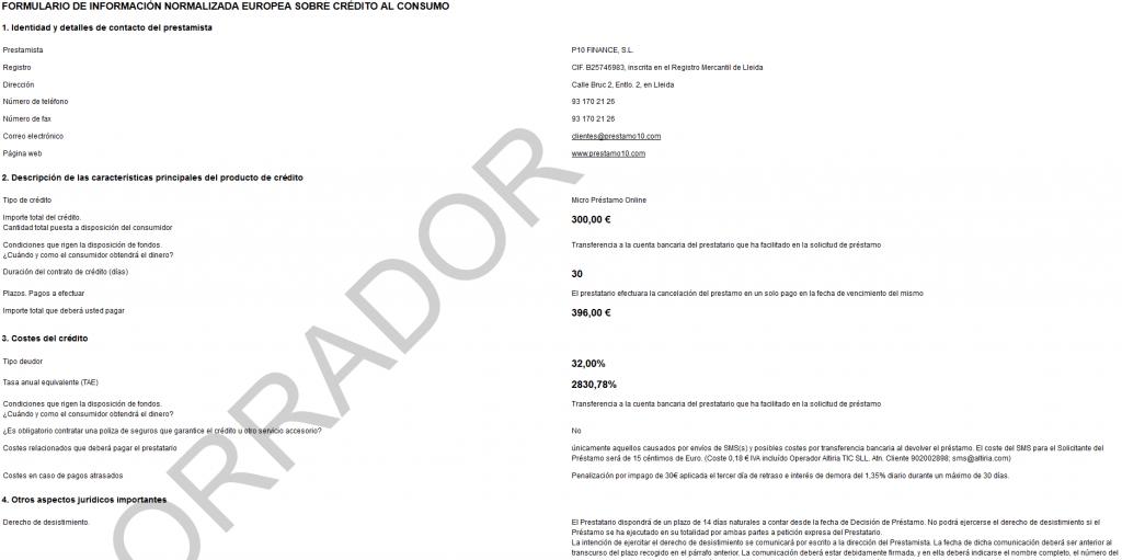 borrador contrato Fiesta Crédito