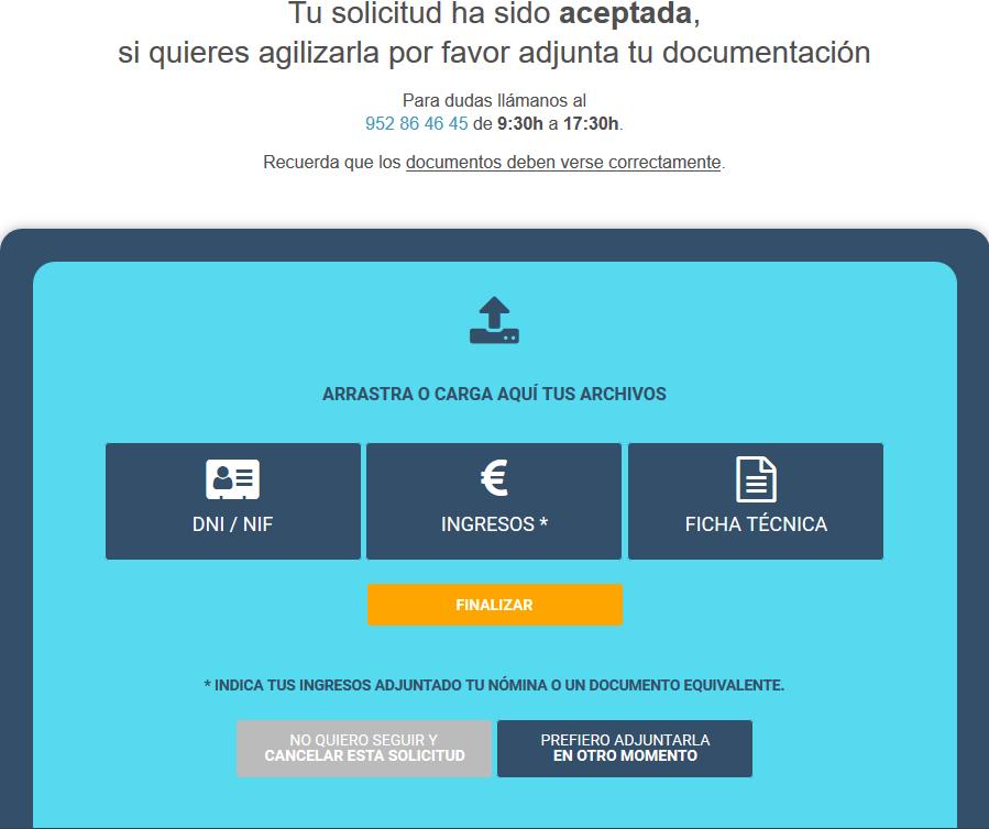 Documentación a presentar en Ibancar