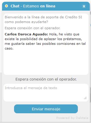 Chat CredotiSí